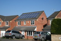 2.88kWp 16 Panel Trina Solar Photovoltaic System, Mansfield, Notts, uk.