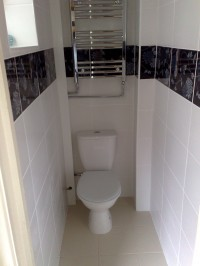 down stairs toilet