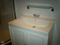 New bathroom basin