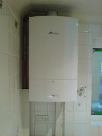 A standard boiler replacement