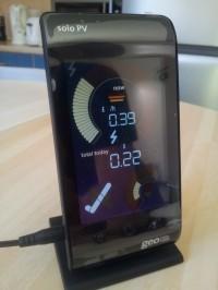 Solo PV Geo -  Solar PV Monitor