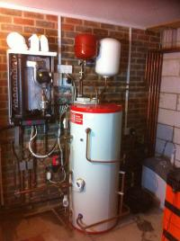 Intergas and unvented installation