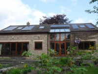 Design & Installation of 'in-roof' Mounted Solar PV Panels to Property in Derbyshire Conservation Area