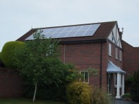 Sharp 3.36kWp Installation