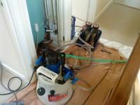 Powerflushing prior to boiler install
