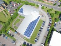 Custom Solar Head Office 50KW