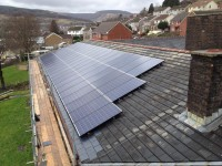 COMMERCIAL SOLAR P.V ON A CARE HOME