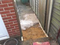 Water leak reinstated