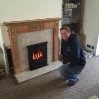 New gazco Fire install