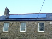 4 kWp of Sanyo Solar Modules in Northumberland