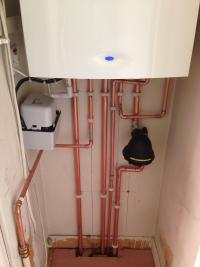 Worcester 38 CDI gas boiler & Magnetic filter