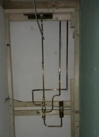 shower pipeworl