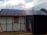 10 kwh Barn roof in Bishops Stortforf