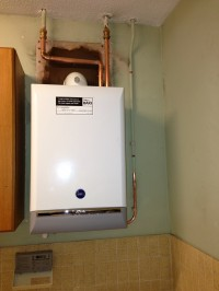 A RATED System boiler high efficiency