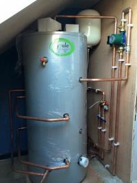 Hot water Unvented Cylinder Install