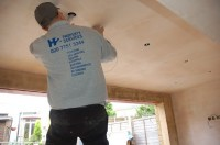 Electrician working from H2 Property Services