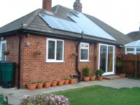 Sharp 2.45kWp Installation