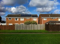 2.2Kwp solar PV plus evacuated tube solar thermal system Cramlington