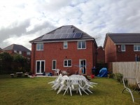 4 kw system in Crook, Co Durham