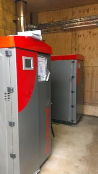 Commercial Biomass Boiler