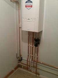 Another tidy Ideal Boiler installation