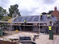 In roof systems for new build
